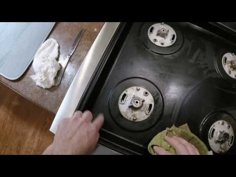 Fulgor Milano Sofia Pro Gas and Dual Fuel Range Cooktop Cleaning