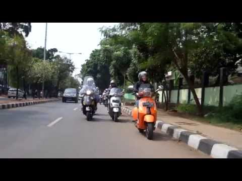 Ride Your Vespa & Lets Move Together (GoPro Hero 4 + DJI Phantom 3)