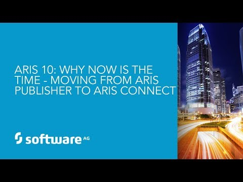 Demo: Why Now is the Time! Moving From ARIS Publisher to ARIS Connect in 2018
