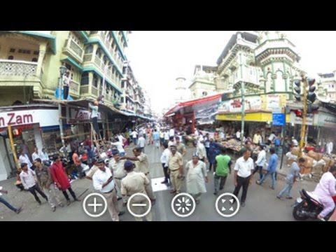 360 Degree View of Crowds in Mumbai, Just Before Iftaar