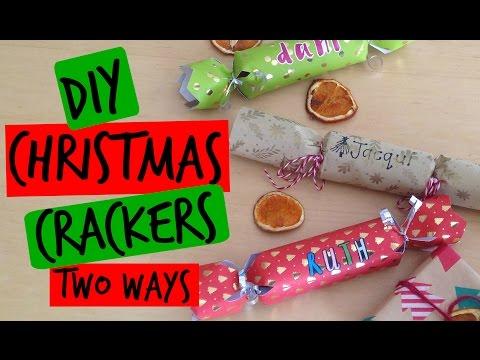 DIY - CHRISTMAS CRACKERS (TWO WAYS)