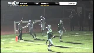 Lawrence Walker of Madison returns kickoff 96 yards for TD