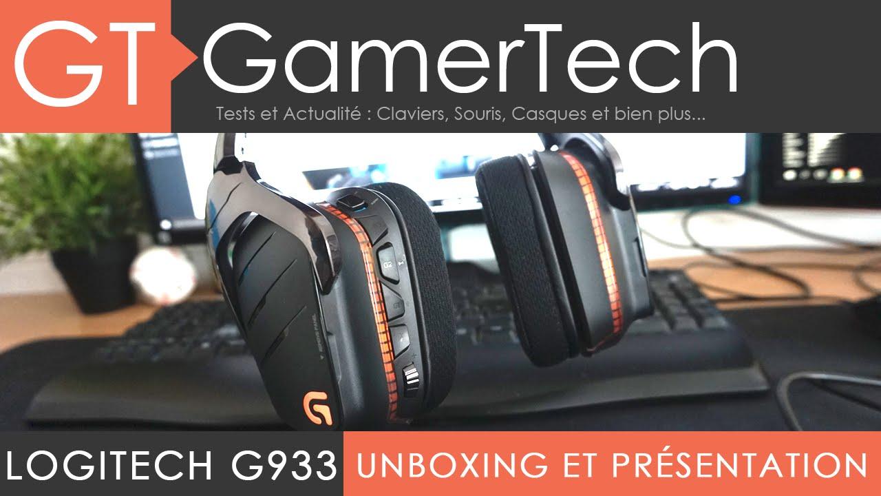 Logitech G633 - Unboxing et Présentation - TEST FR