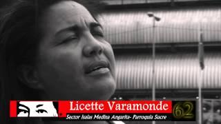 Licette Vaamondez Candidata N°62 a Jefa de Círculo de Lucha Popular en la Parroquia Sucre