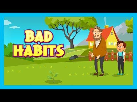 BAD HABITS - MORAL STORIES FOR KIDS    KIDS LEARNING VIDEOS (Animation) - KIDS HUT STORIES
