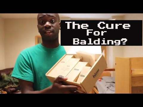 HIMS Hair Loss Unboxing And Initial Reaction