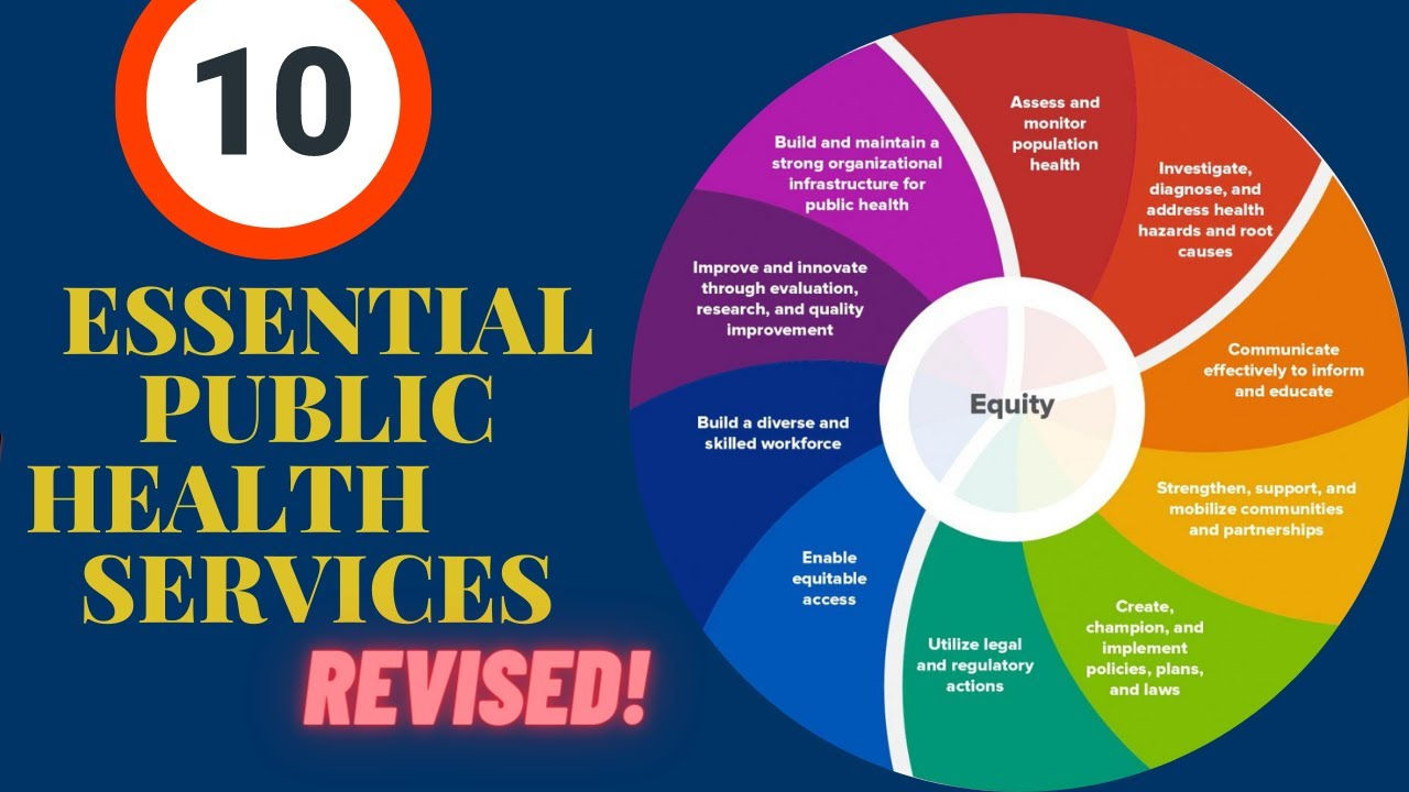 10 Essential Public Health Services Revised