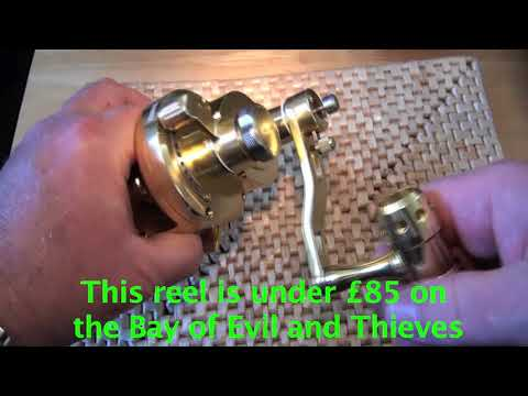 Saltwater Jigging Big Game Fishing Reel From China - First Look By PMR