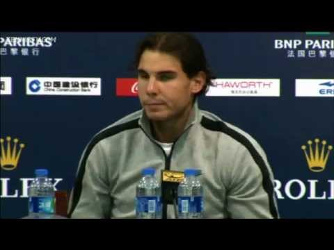 Nadal Discusses Shanghai Loss To Florian Mayer