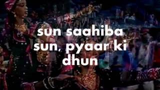 Sun Sahiba Sun-Karaoke & Lyrics-Ram Teri Ganga Maili