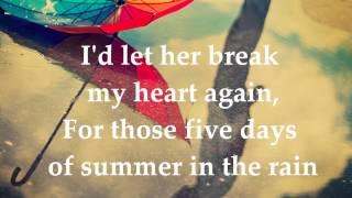 Joe Brooks - Fİve Days Of Summer Lyrics