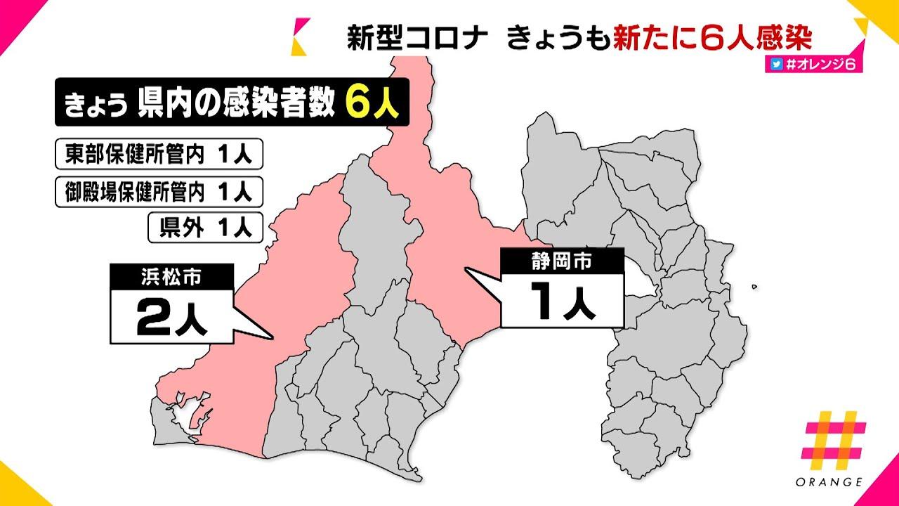 感染 数 者 県 静岡