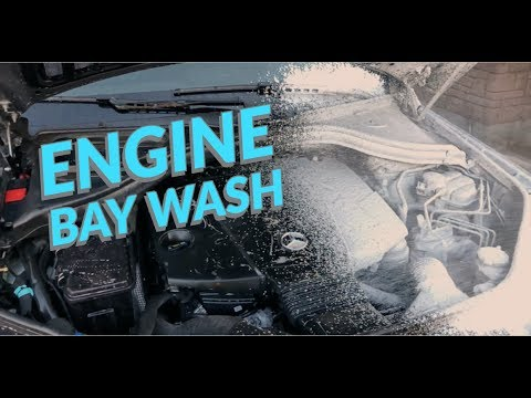 How To Clean Your Engine Bay!