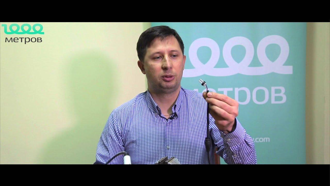 Как распаять микрофонный шнур - Видео урок 2 - 1000-metrov.com .