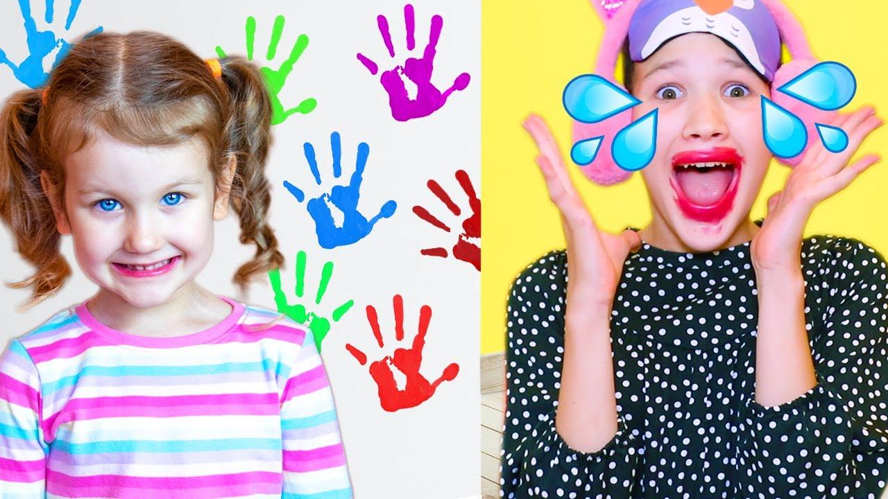 Erika y su nueva niñera | Historia divertida para niños