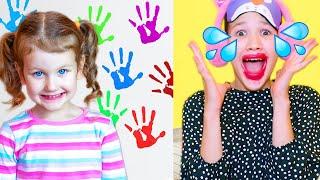Erika y su nueva niñera   Historia divertida para niños