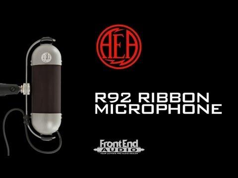 AEA R92 Ribbon Microphone