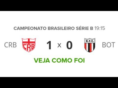 CRB 1 x 0 Botafogo-SP | Melhores Momentos | Série B | 24/10/2019 | Futebol