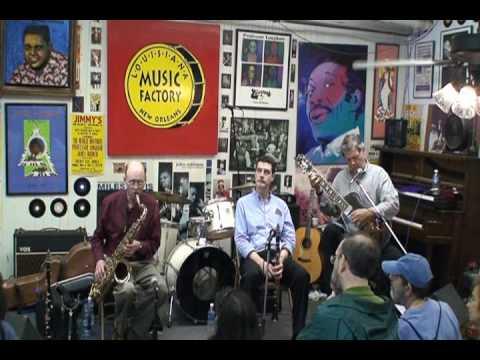Classic Jazz Trio @ Louisiana Music Factory JazzFest 2010