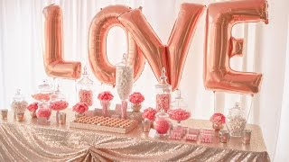 Coral and Gold Wedding Lolly Buffet, styled by Enchanted Empire, Event Artisans