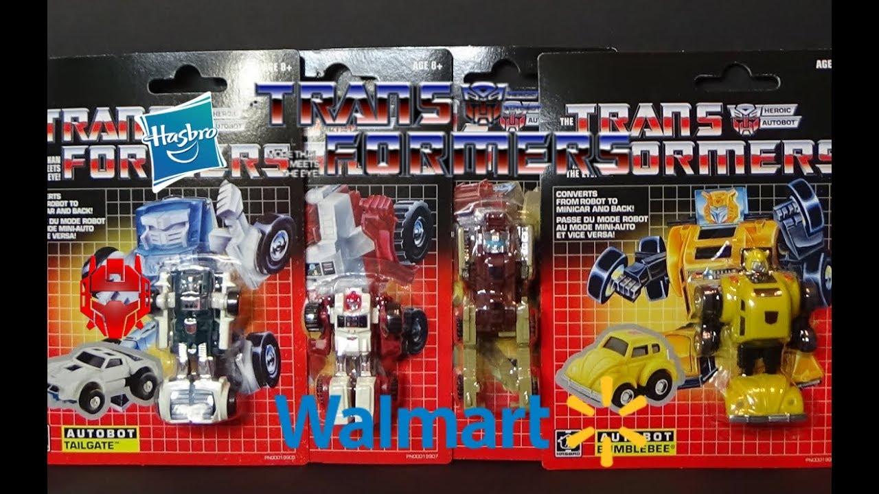 NEW Transformers TAILGATE 2018 Hasbro G1 Minibot Autobot Walmart Exclusive MOC