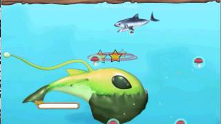 Feeding Frenzy 2 - Shipwreck showdown - How to defeat the alien fish/boss