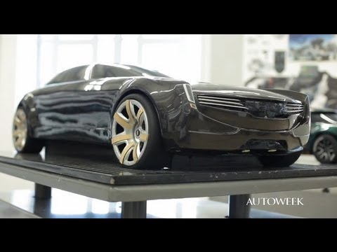 Car-design student projects at the College for Creative Studies - Autoweek