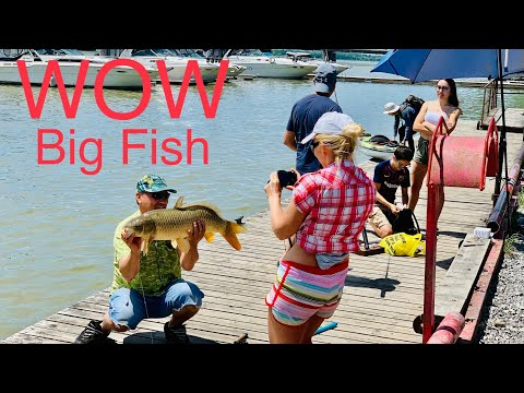 How To Catch Big Fish! / Dunnville / Ontario/ Canada