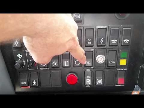 VBL Vanhool c2045 Dash Demo
