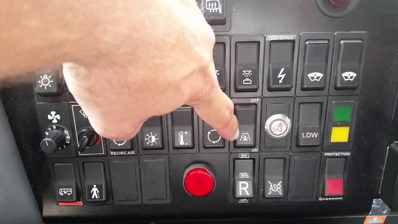 hight resolution of vbl vanhool c2045 dash demo