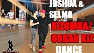 Joshua and Selma Kizomba Dance/Urban Kiz dance Great Footwork!