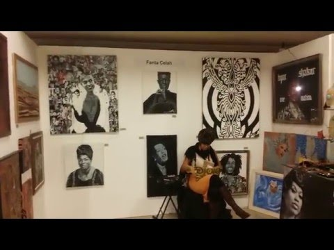 BAIA at the Harlem Fine Arts Show NYC 2016