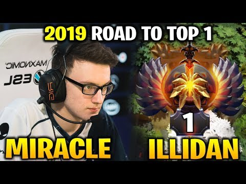 Miracle 2019 Back to Farming in Ranked Match vs Illidan
