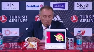 Milan Tomić Nakon Pobede nad Fenerbahčeom u Evroligi   SPORT KLUB KOŠARKA