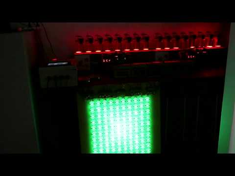 DMX512 fountain light controller