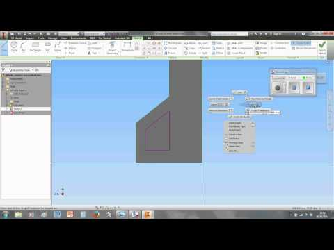 How to make an electronics case in Inventor   Video 1