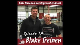 CSP Elite Baseball Development Podcast: Blake Treinen