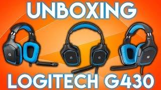 Unboxing Auriculares Logitech G430 y prueba en Battlefield 1