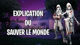 EXPLICATION OF SAUVER THE WORLD - FORTNITE