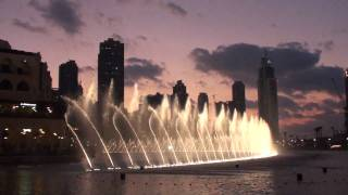 Dubai fountain -Bassbor Al Fourgakom