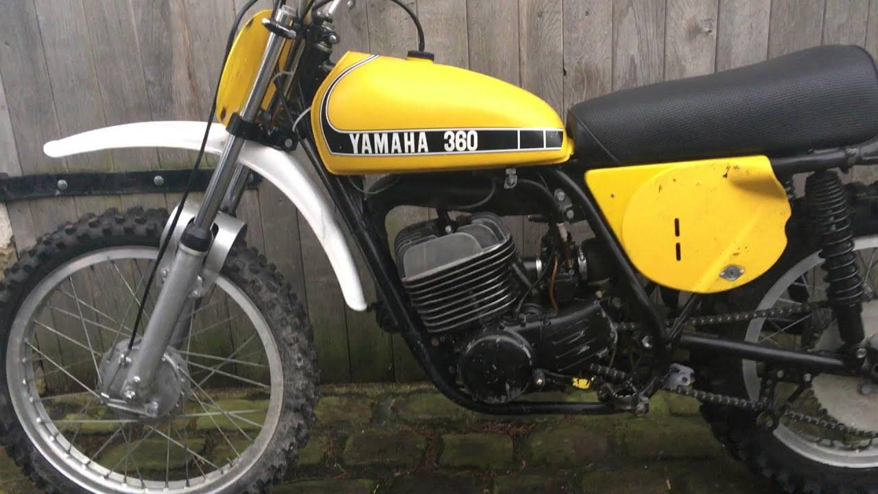 Yamaha Mx360 Classic Twinshock Motocross Bike