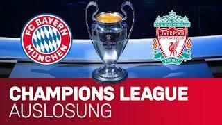 FC Bayern vs. FC Liverpool! | Achtelfinal-Auslosung mit Hasan Salihamidzic | Champions League 18/19