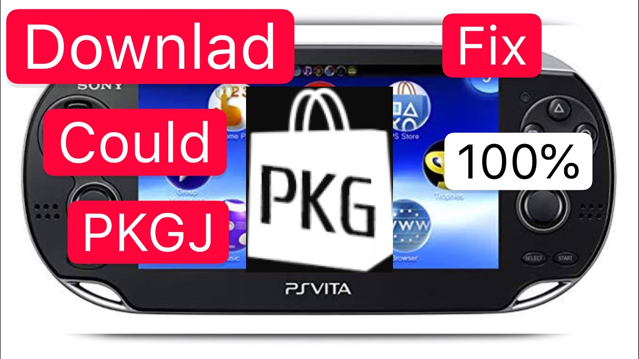 Download a Game in PKGJ is Could Not Download Fix 100%