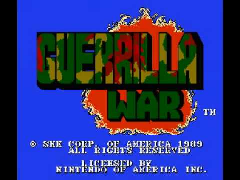 Guerrilla War (NES) Music - Boss Battle