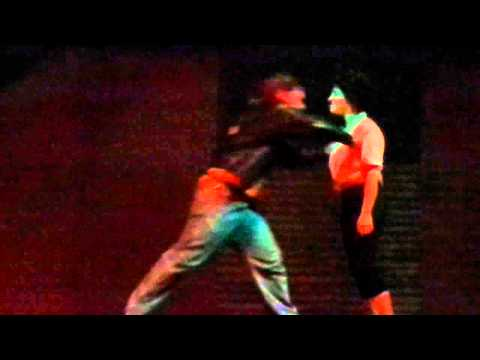 (Kenickie & Rizzo fight) Grease - RRHS 2013