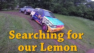 We found our race car! 24 Hours of Lemons