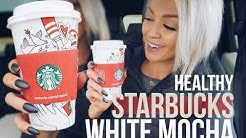 Starbucks Low Calorie White Mocha Coffee