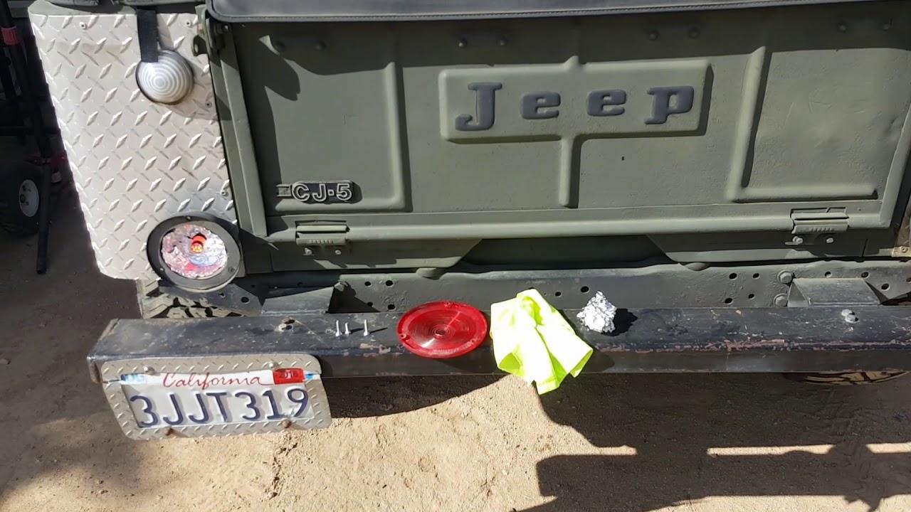 luyed turn signal lights 900 lumens jeep cj5 not flashing [ 1280 x 720 Pixel ]