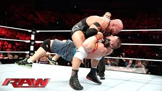John Cena vs. Ryback: Raw, Nov. 10, 2014
