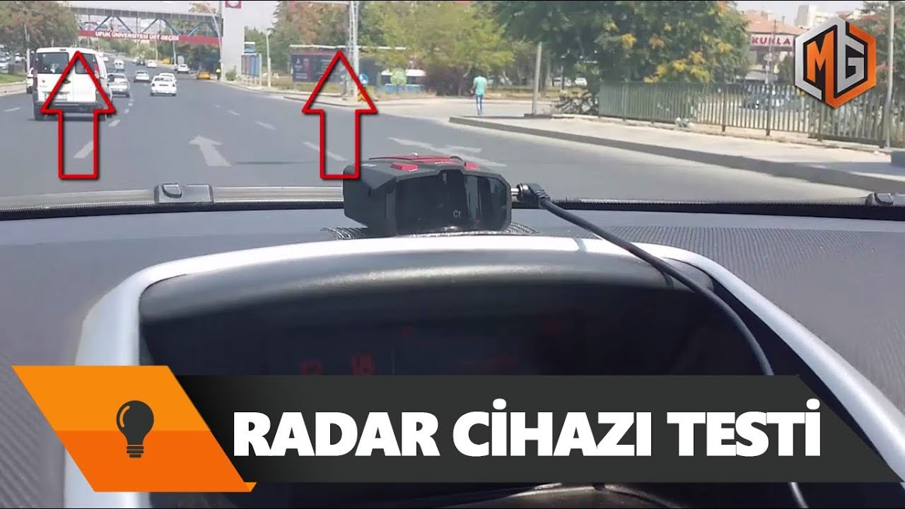 telefonda radar tespiti